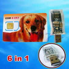 USB SIM Card Reader / Writer 6 in 1  Max SIM Cell Phone Magic Super Card backup