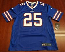 LeSean McCoy Buffalo Bills Nike Authentic NFL On Field Game Jersey Blue Stitched