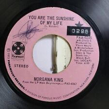 Pop 45 Morgana King - You Are The Sunshine Of My Life / A Song For You On Paramo