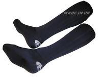 Neoprene Hunting Shooting Socks Long Wear Under Waders Wellies Boot UK Made