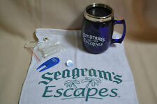 SEAGRAM'S ESCAPES COFFEE MUG, TOWEL, DIVOT TOOL, TEE'S GOLF PACKAGE FATHER'S DAY