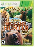 Cabela's Big Game Hunter 2012 (Microsoft Xbox 360, 2011)  DISC ONLY!!      FAST