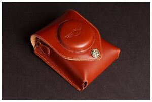 Real Leather Neck Waist Camera Case Bag for SONY RX100 V M5 M3 M4 MARK V IV III