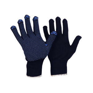 Arbeitshandschuhe mit PVC-Noppen Strickhandschuhe Noppenhandschuhe