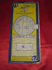N279 MICHELIN CARTES 1954 CLERMONT LYON 73 BON ETAT