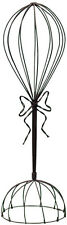 Hat Stand with Twisted Wire Bow