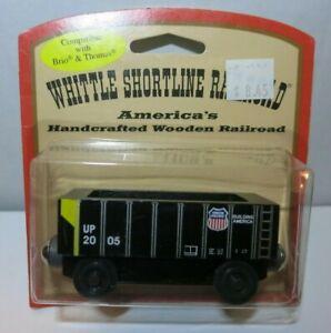 Whittle Shortline Railroad Union Pacific Hopper Car Model Train - New
