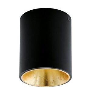 Spotlight Ceiling LED 3,3w Modern Round Black And Gold Coll. Glo 94502 Polasso