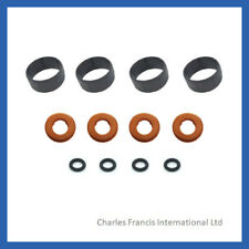 PEUGEOT 107 206 207 307 1007 1.4 HDI FUEL INJECTOR SEAL WASHER  O-RING SET x 4