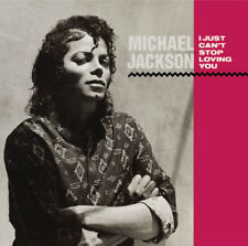 Michael Jackson CD Single I Just Can't Stop Loving You - Europe (M/M - Scellé)