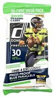 2020 Panini Donruss Football 30-Card Value Fat Pack