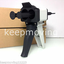 1:1 Ratio Dental Impression Mixing Dispenser Dispensing Caulking Gun 50 ml