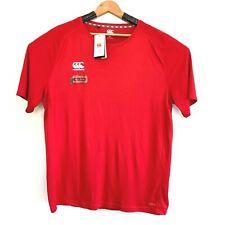Mens Canterbury Short Sleeves Crew Neck Vapodri T Shirt Size UK