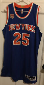 NY KNICKS DERRICK ROSE ADIDAS REV 30 TEAM ISSUED JERSEY AUTHENTIC PRO CUT XL