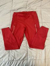 ATHLETA Rainier Tight Leggings Red Size Medium