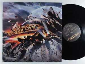 BOSTON Walk On MCA LP VG+ gatefold **