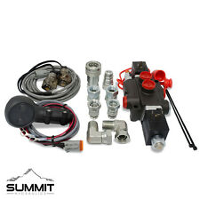 Third Function Hydraulic Valve Kit w/ Joystick Handle Tractor/Loader, 13 GPM, AG