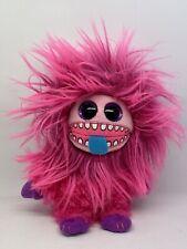 TY Beanie Boo Frizzys Zeezee The Monster 15 Cm Tall Pink Plush