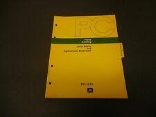 1974 John Deere Parts Catalog No.Pc-1510 863 Agricultural Bulldozer, 8 Pages