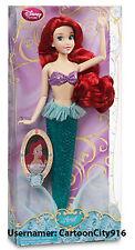 Disney Store Little Mermaid Ariel Classic Doll 12'' H NEW