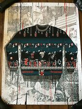Castlevania Ugly Sweater Art Print Poster Only 80 Made! Christmas Retro Vintage