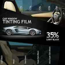 LIGHT BLACK 35% CAR HOME OFFICE WINDOW TINT 3M x 50CM FILM TINTING