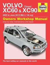Volvo XC60 & XC90 Diesel (03 - 13) Haynes Repair Manual by Anon, NEW Book, FREE