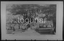 PUERTO RICO 1903 Photogravure Print - Ponce Students 1902 Celebration US Landing