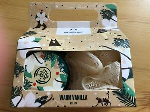 Authentic The Body Shop Warm Vanilla Duo Gift Set