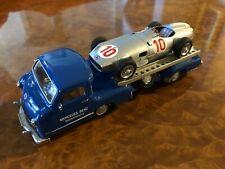 Conrad 1:43 SET | Mercedes-Benz Renntransporter w/ W196 Race Car | # CRD01034GS1