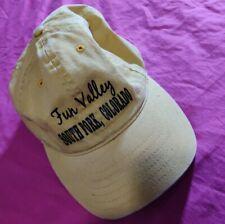 Fun Valley South Fork, Colorado Adjustable Hat Cap