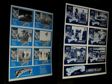 Original SUPERMAN II & III Mega Rare Australian Lobby Card Posters + EXTRAS