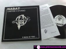 NABAT CAMPANE A STORMO - IL DEMO DI 1982 POTERE RECORDS PR001 LP GERMAN REISSUE