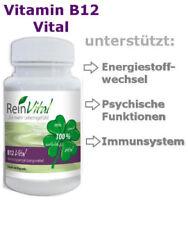 ReinVital - Vitamin B12 Vital 60 Kapseln vegan, Energie für Ihr Gehirn