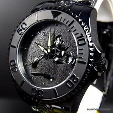 Invicta Disney Mickey Grand Diver All Black 47mm Automatic Watch New + Case