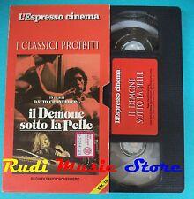 VHS film cartonata IL DEMONE SOTTO PELLE 1992 Steele Hampton ESPRESSO(F92)no*dvd