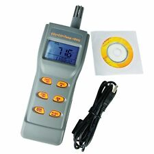 6 in 1 Combo CO2 & CO Temperature Humidity RH% DPT WBT with Software IAQ Meter