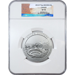 2012-P Chaco America The Beautiful ATB 5 Oz Silver Coin NGC SP70