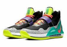 Novo Nike Air Force Max Preto Hot Punch Volt Nova Verde AR0974-005 Sapatos Masculino Novo Na Caixa