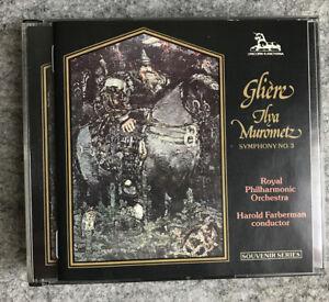 "Glière: Symphony no 3 ""Ilya murometz"" / Harold Farberman (CD, 2 Discs, Unicorn-K"