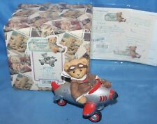 Cherished Teddies Chad With You My Spirits Soar Figurine # 477524 1999 Enesco