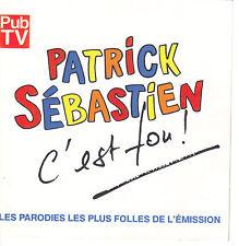 PATRICK SEBASTIEN - C'EST FOU - LES PARODIES LES PLUS FOLLES - CD ALBUM 28T RARE