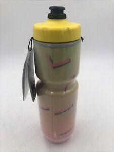 Specialized Purist Yellow Retro Bright 23 Oz Insulated Chromatek Mflo Bottle