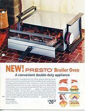 Vintage PRESTO Sales Catalog: HOME APPLIANCES