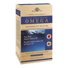 Solgar Selvaggio Alaskan Pieno Spectrum Omega 120 Softgels