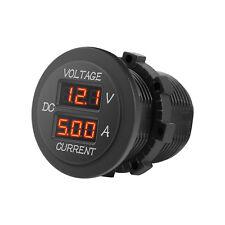Red Digital Multimeter,Current Tester & Voltmeter Tester for Boat Marine Vehicle