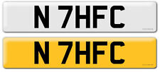 Tottenham Hotspur Themed Number Plate. N 7HFC Perfect for any Spurs Fan THFC