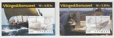 Denmark Sc 1284, 1285 Intact Booklets. 2004 Viking Ship Museum, complete set, Vf