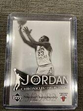 2007-08 Upper Deck Chronicles Michael Jordan #JC-1 HOF UNC #45