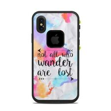 Skin for LifeProof FRE iPhone X - Wander by Kelly Krieger - Sticker Decal